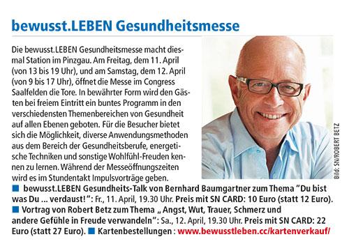 Salzburger Nachrichten 02.04.2014