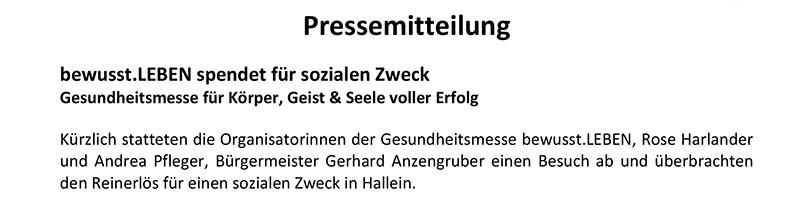 Pressemitteilung_Spende-Hallein