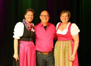 Robert Betz mit Andrea und Rose